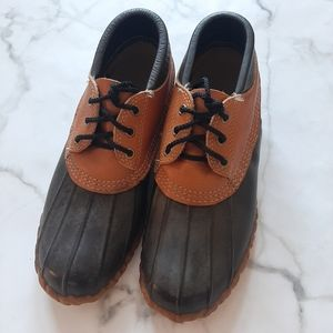 L.L. Bean Tan Leather Short Maine Hunting Shoe